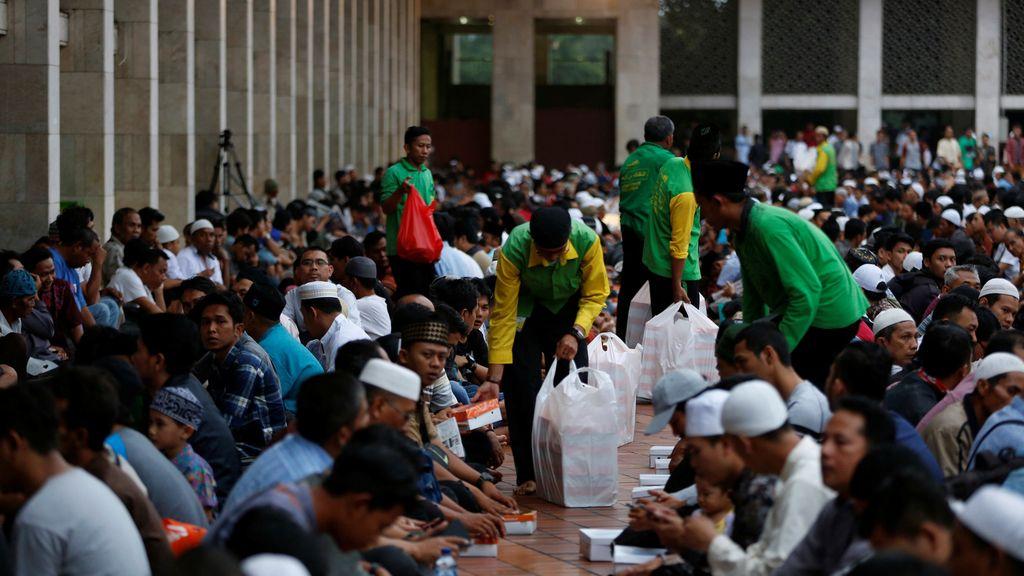 Celebración del Ramadán en Jakarta
