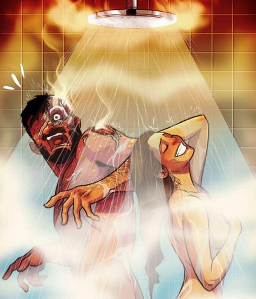 El momento de la ducha