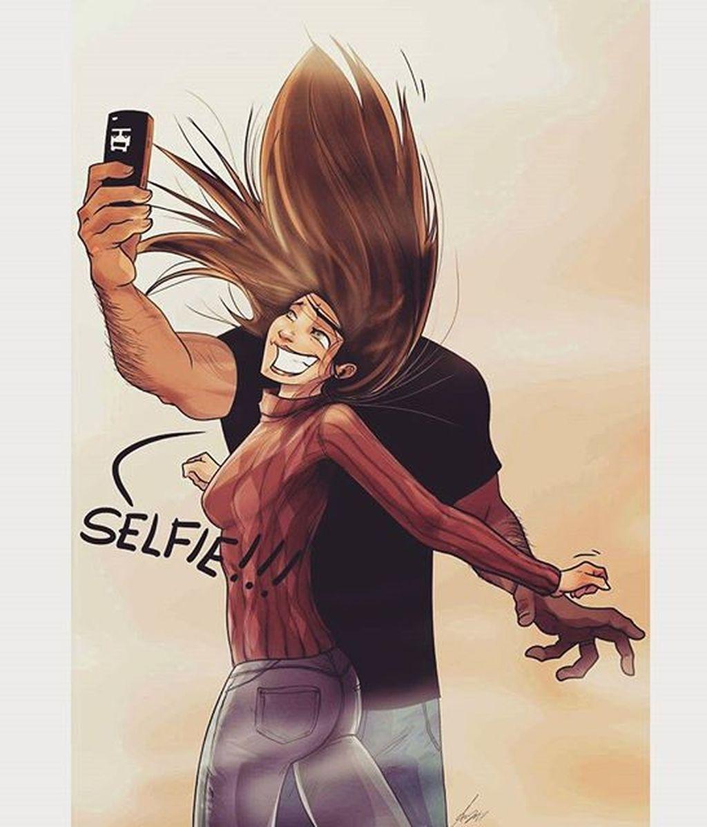 Las ilustraciones que reflejan qué es una pareja