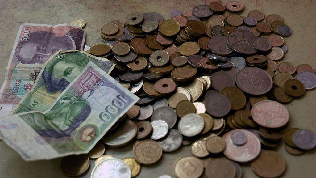 ¿Cuántas pesetas guardamos aún los españoles?