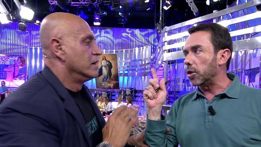 "Rifirrafe entre Matamoros y Jesús Manuel: ""Cállate un poquito"""