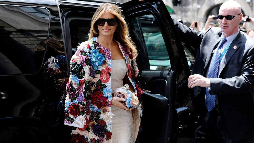 ¿Por qué ha generado polémica este abrigo de Melania Trump?