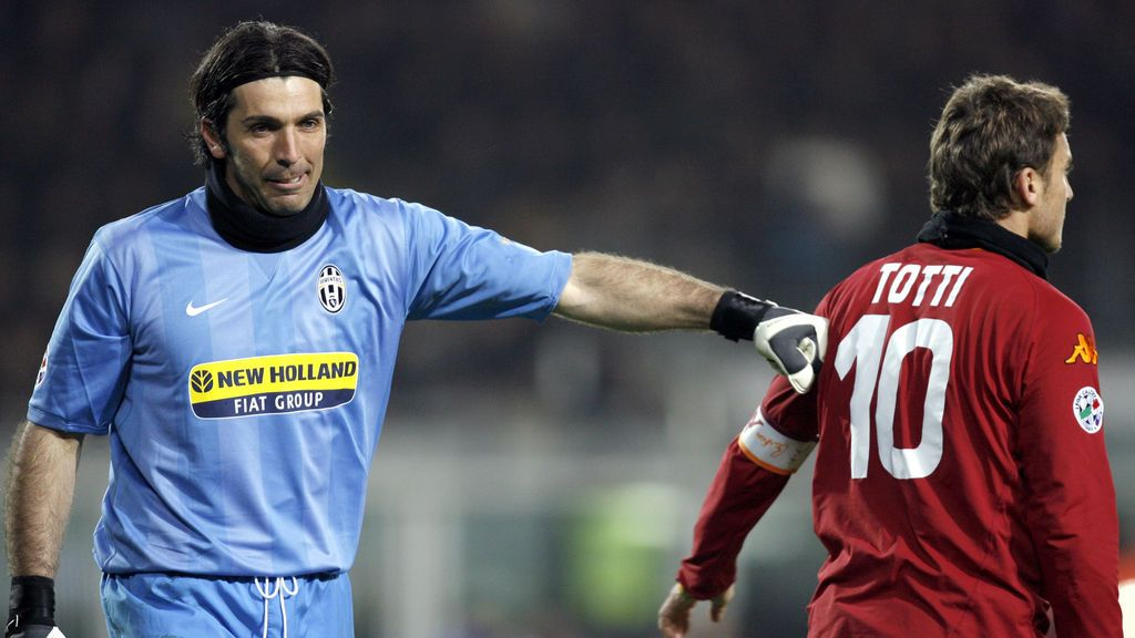 De leyenda, a leyenda: Buffon emociona al mundo del fútbol con su mensaje para Totti