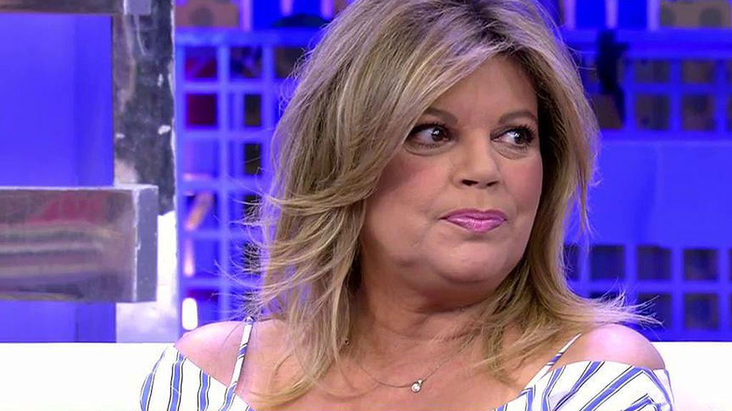 """Terelu Campos, sobre su madre: """"Creo que empieza a haber una mejoría"""""""
