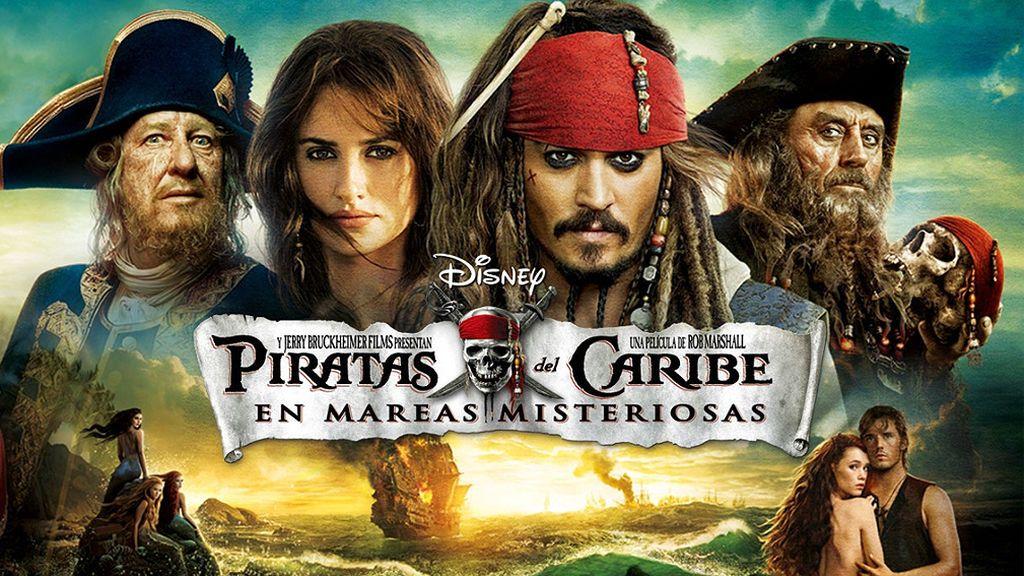 'Piratas del Caribe: En mareas misteriosas', esta noche a las 22.00 h.