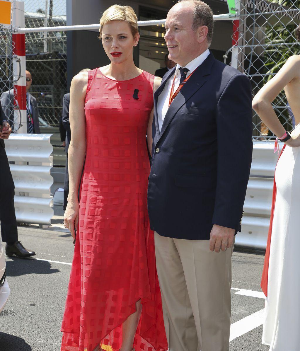 Casiraghi, Tatiana, Chris y Elsa disfrutan del Gran Prix de Mónaco