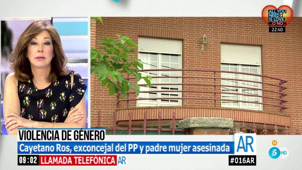 """Cayetano Ros, padre de la mujer asesinada: """"Ella no quería continuar y él decidió matarla"""""""