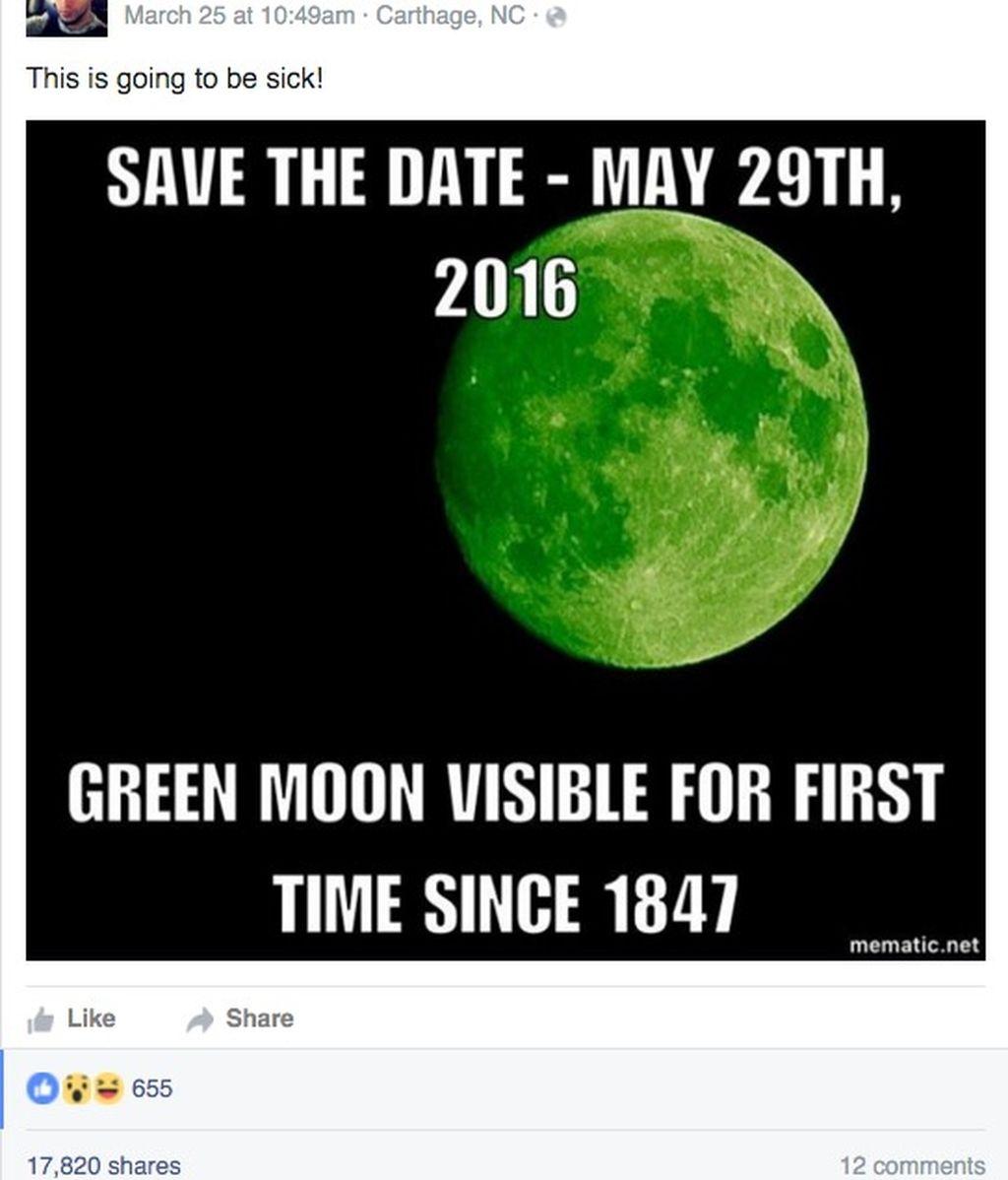 Falsa luna verde
