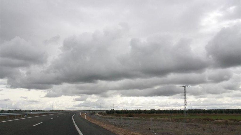 Nubes carretera