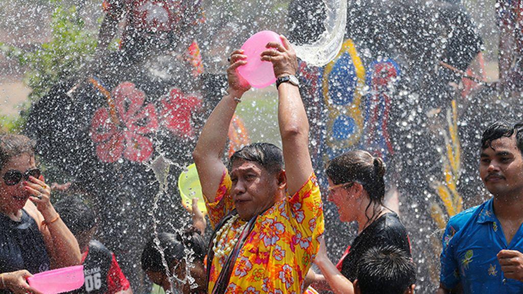 Songkran, la fiesta del agua en Tailandia
