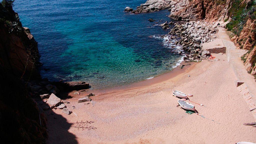 Cocina de cuaresma al lado de la playa de Tossa de Mar