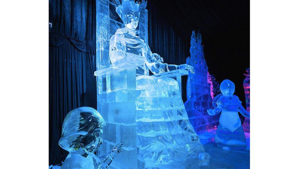 Entramos en el palacio de Elsa y Anna