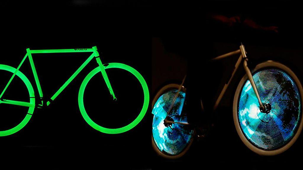Si quieres que se te vea bien, búscate una bici luminosa