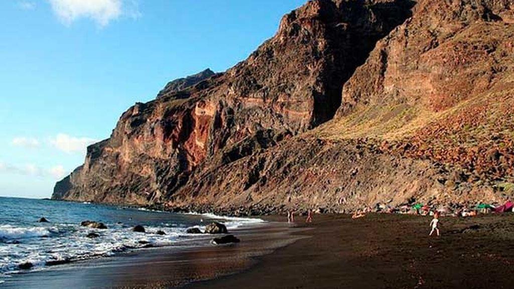 Buscando delfines en la Playa del Inglés (La Gomera)