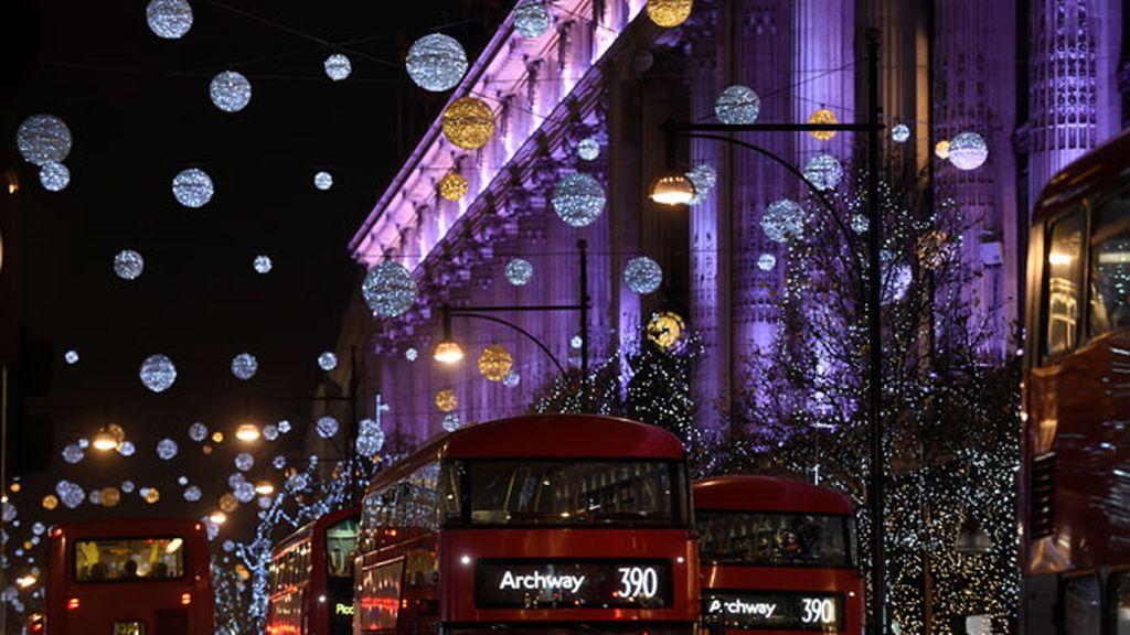 Oxford Street en Londres (Inglaterra)