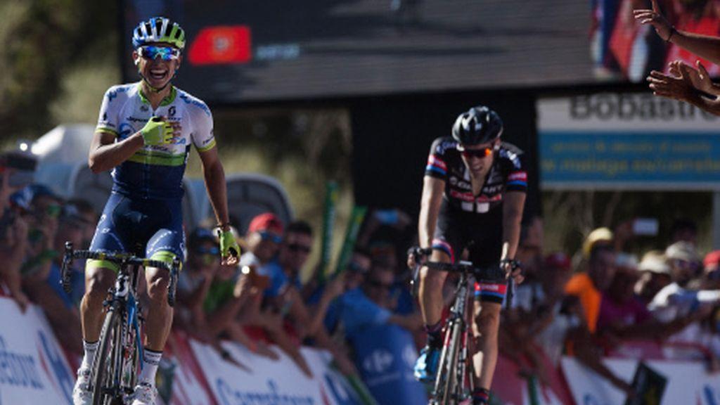 Vuelta España el tiempo
