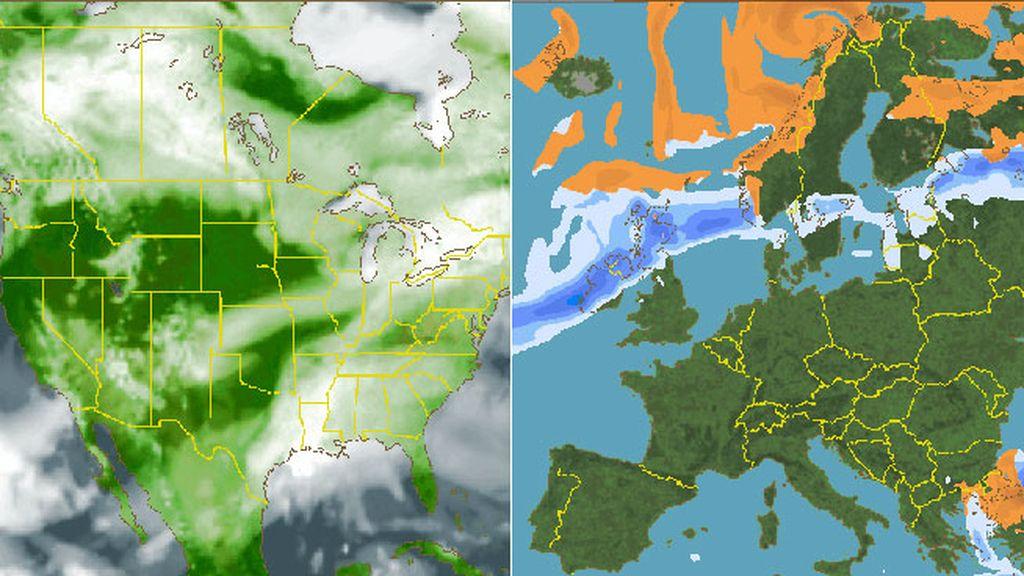 Lluvia en Londres y buenísimo en Ámsterdam: ¿Qué tiempo va a hacer si te vas fuera?