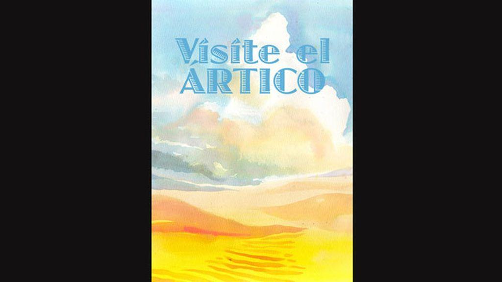 Enrique Flores ilustra así el 'desierto' en el que se está convirtiendo el Ártico