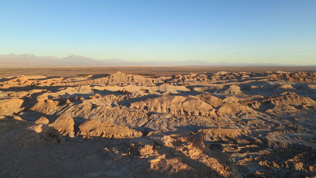 Nieblas en el desierto de Atacama