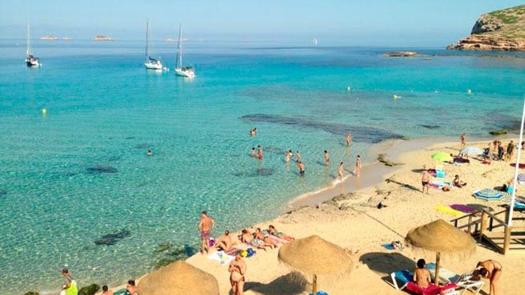 Cala Comte (Ibiza) sin agobios