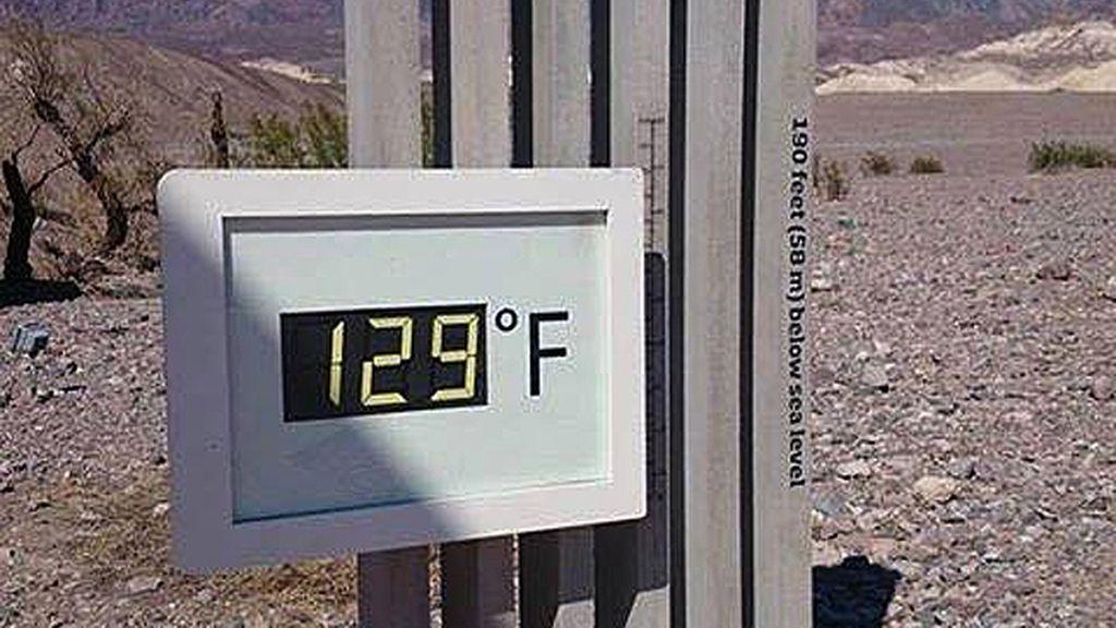 Calor en el Valle de la Muerte