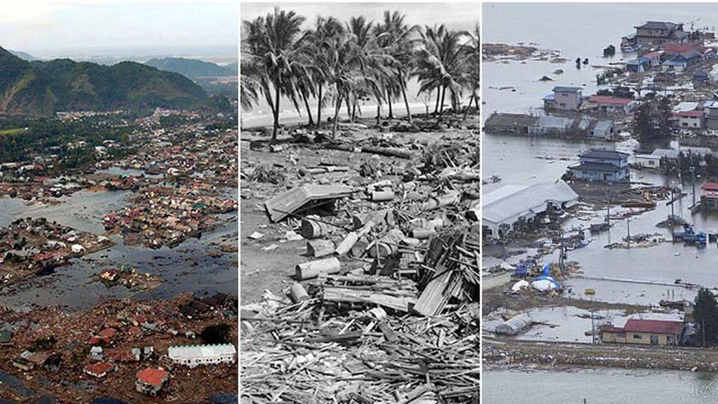 El Cinturón de Fuego en el Pacífico, el más afectado por los tsunamis