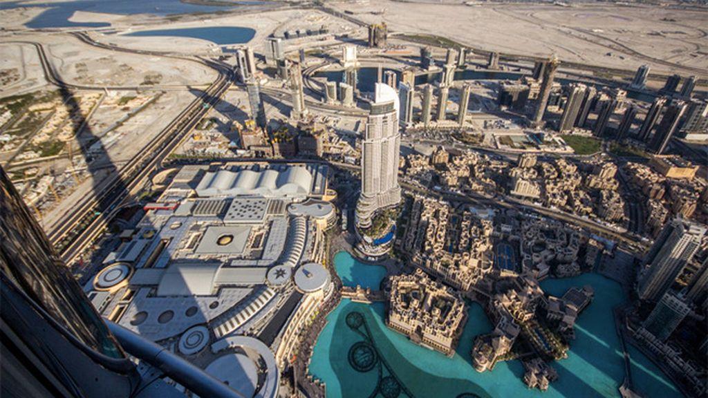 125 pisos y ni un sólo peldaño en Burj Khalifa