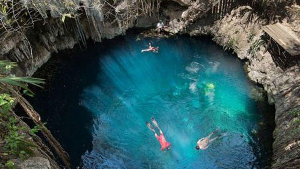 Cráter Chicxulub, en el Golfo de México