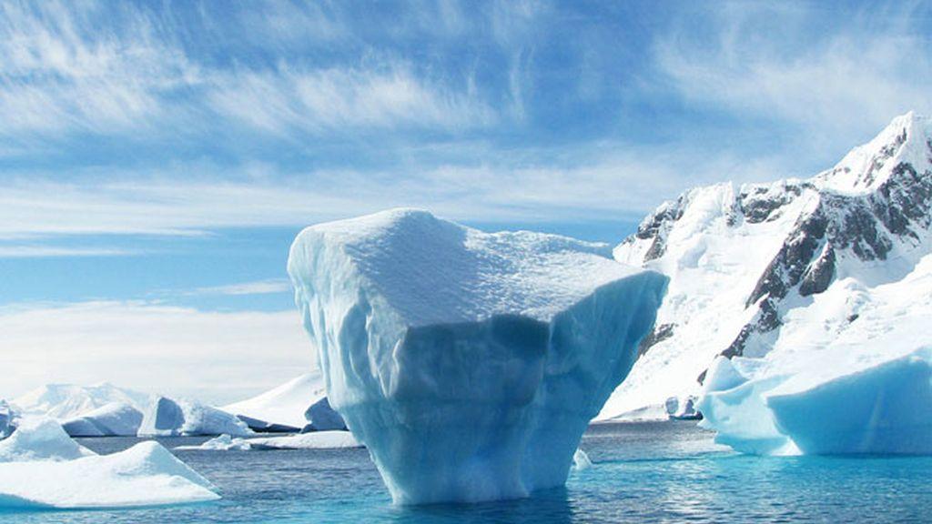 Glaciar Antártida