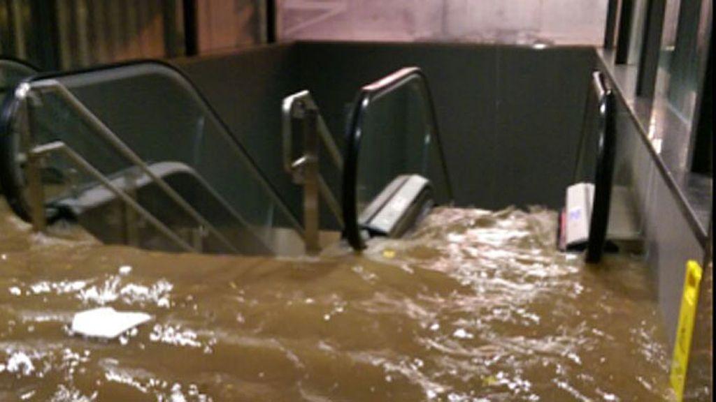 las peores inundaciones de Málaga en 25 años