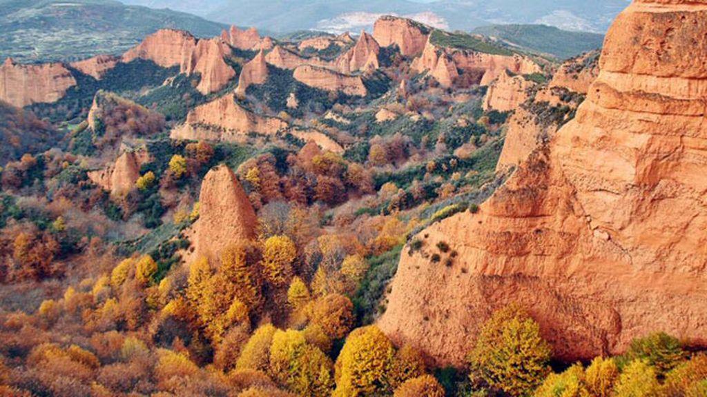Parque Natural de Las Médulas en El Bierzo