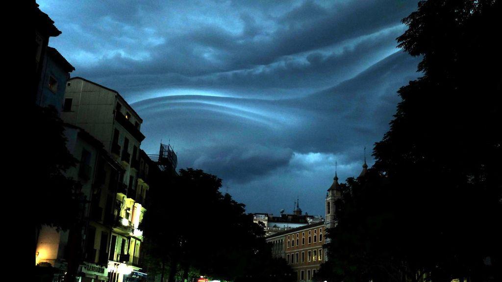 Tormenta en Zaragoza