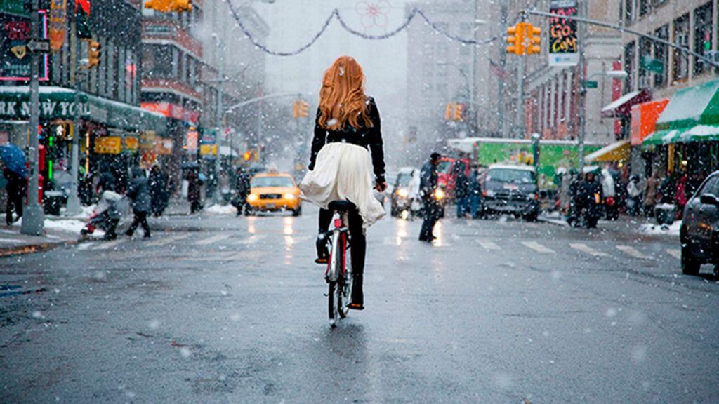 No te bajes de la bici aunque llueva