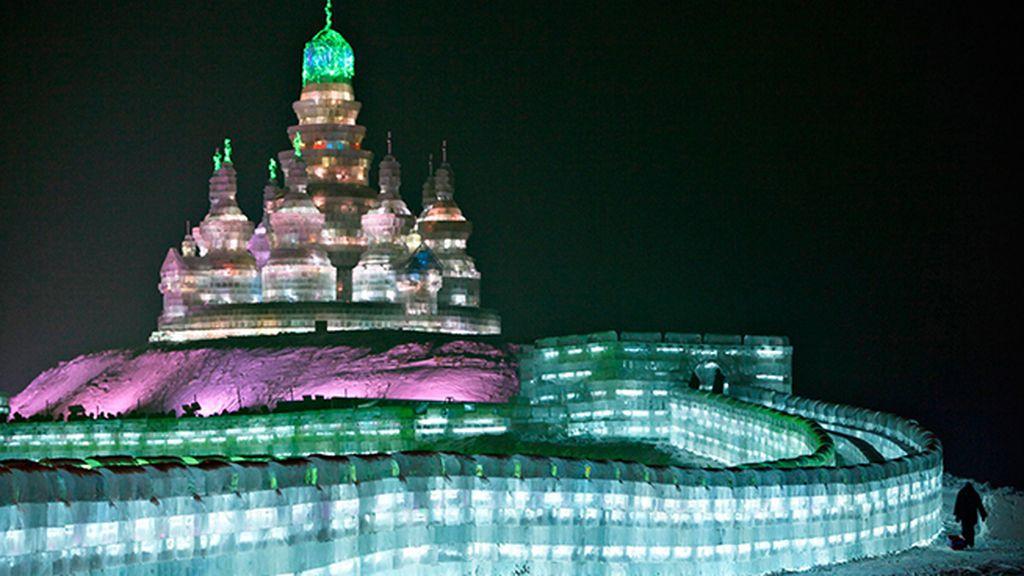 En 2007, este edificio de hielo consiguió el récord Guinness por ser el más grande del mundo
