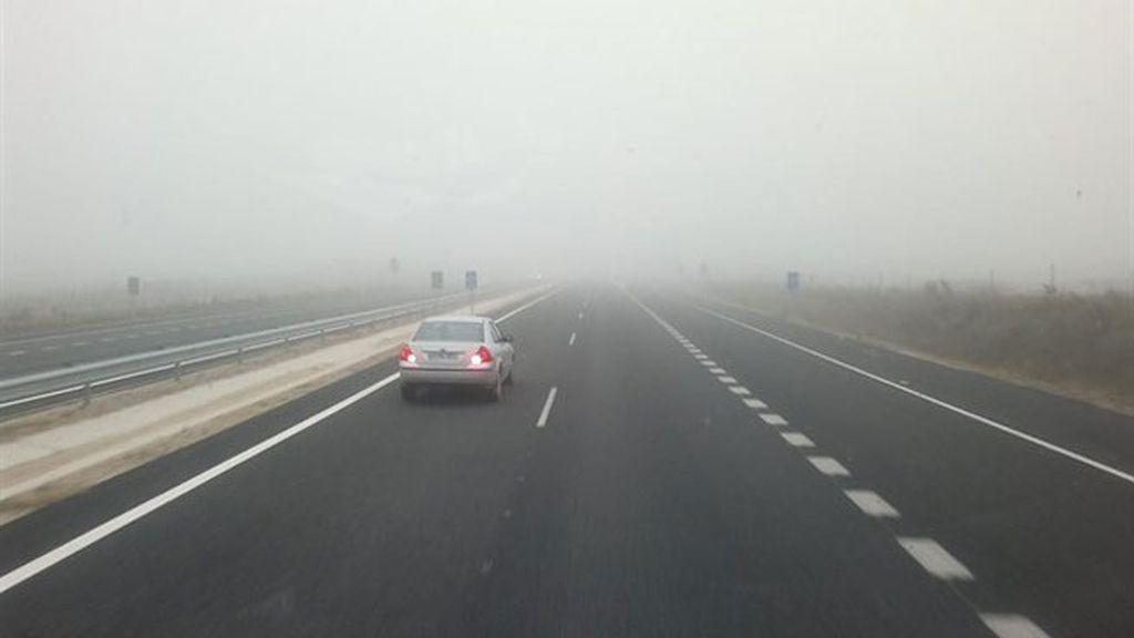 niebla coche
