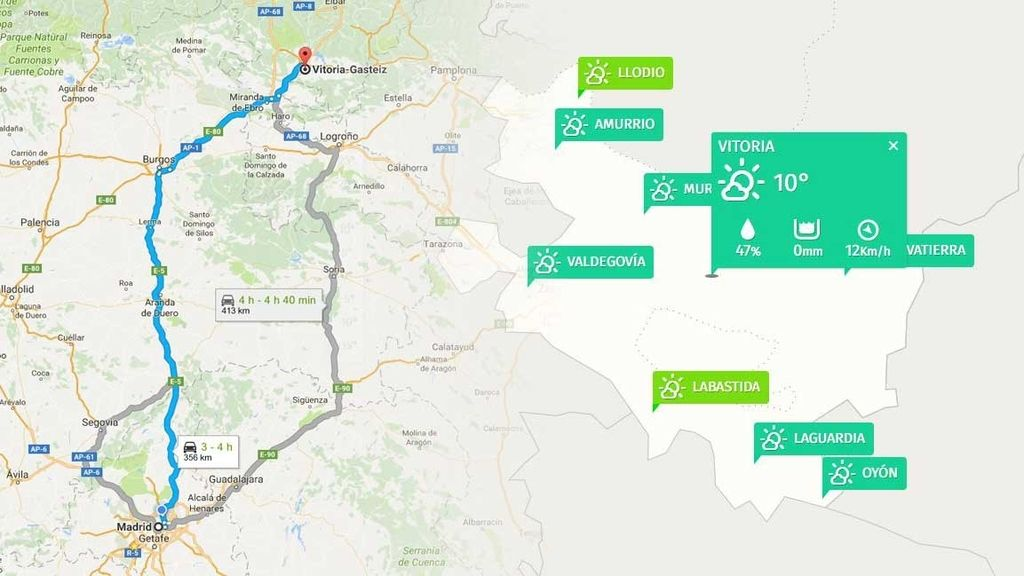 mapa y previ
