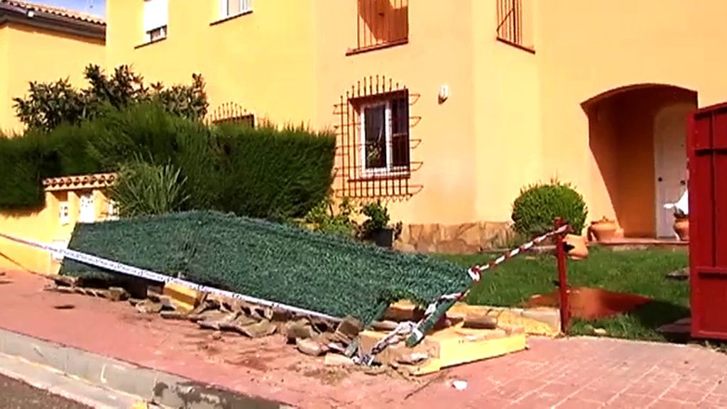 Así han quedado las casas de Mont Roig del Camp (Tarragona)