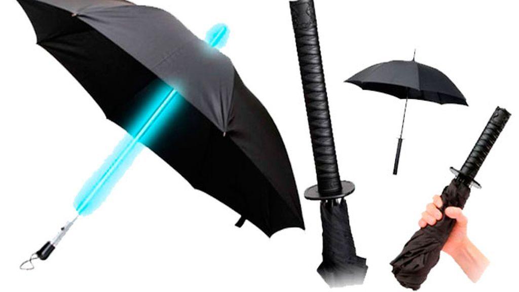 Paraguas arma: ¡Eres un friki y te gusta que lo sepan!