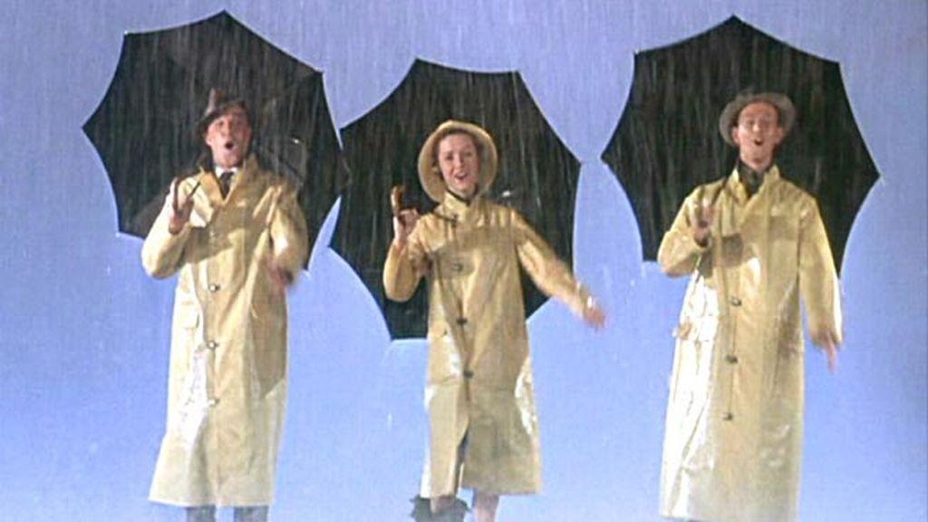 'Cantando bajo la lluvia'