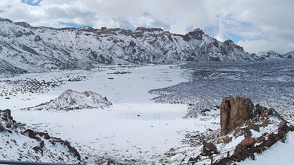 Nevada histórica en Canarias