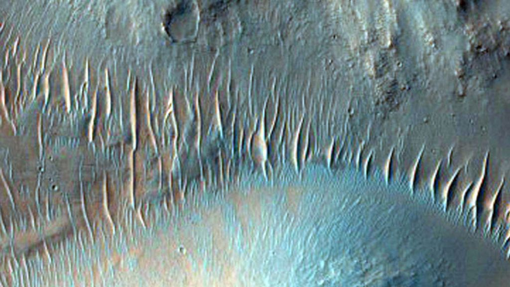 Nirgal Vallis, el canal de un largo río ya evaporado