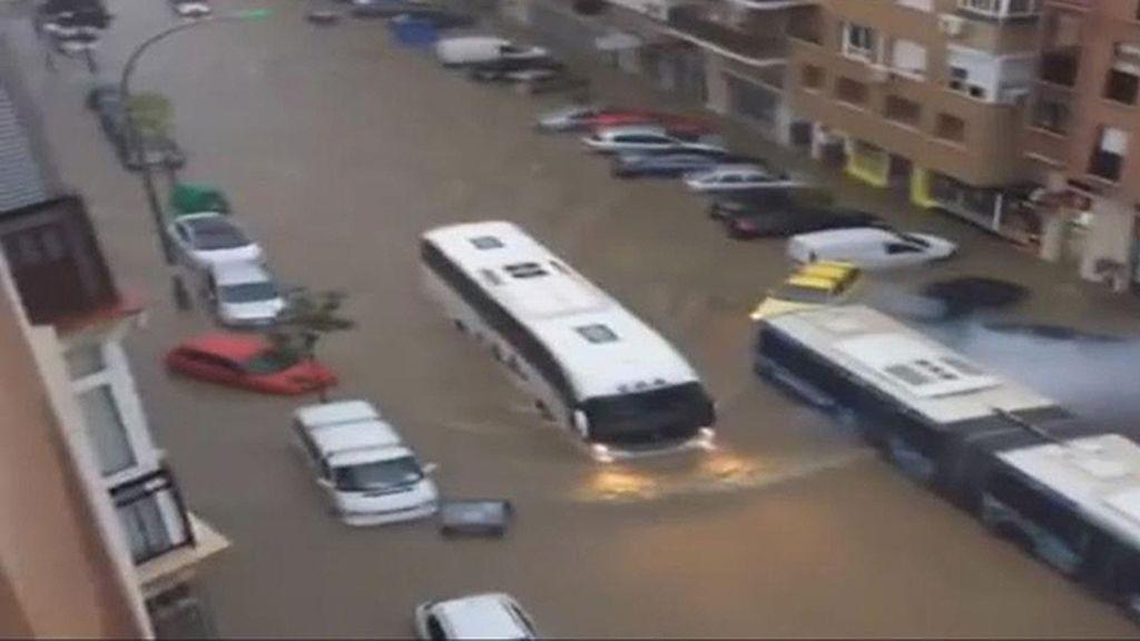 Las inundaciones de Málaga