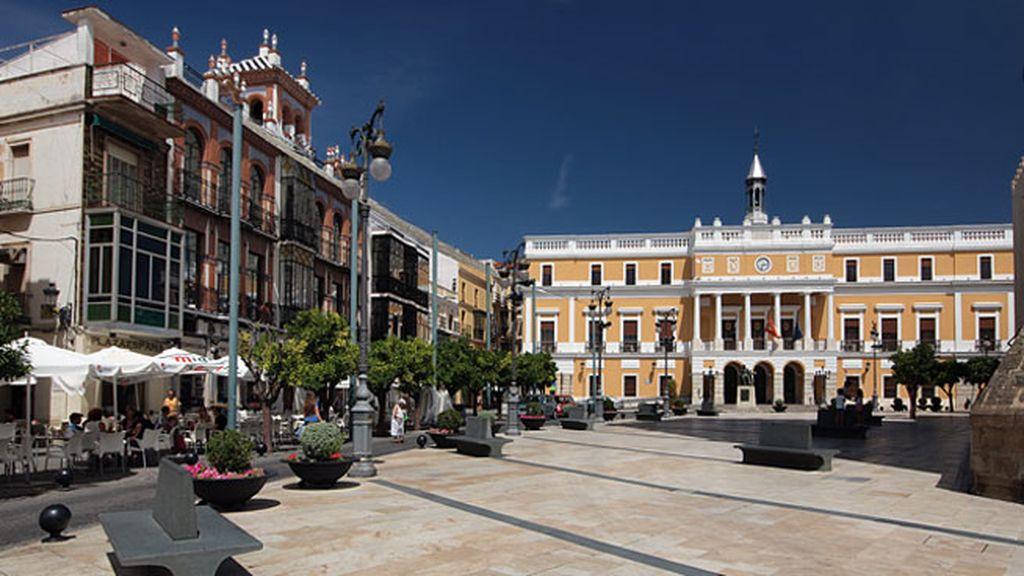 Badajoz, su termómetro ha llegado a 45 grados