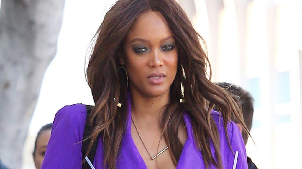 Tyra Banks y los estornudos