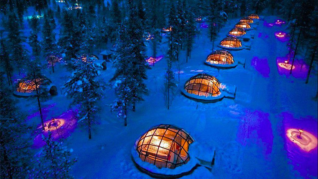 Kakslauttanen Ártico Resort y Snow Village, Finlandia