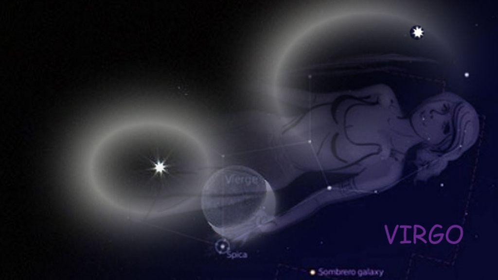 Luna  y virgo