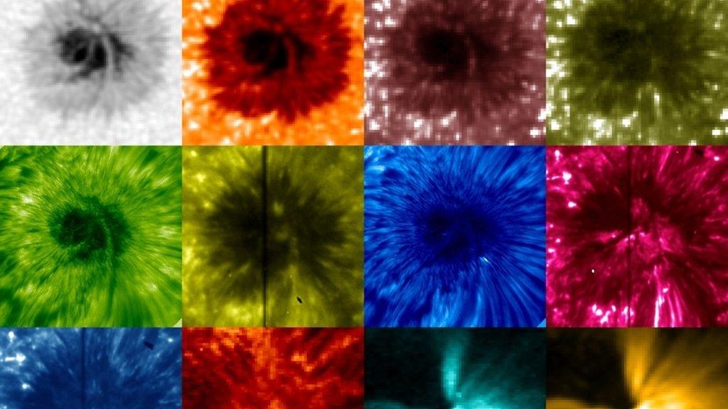 radiografia del sol