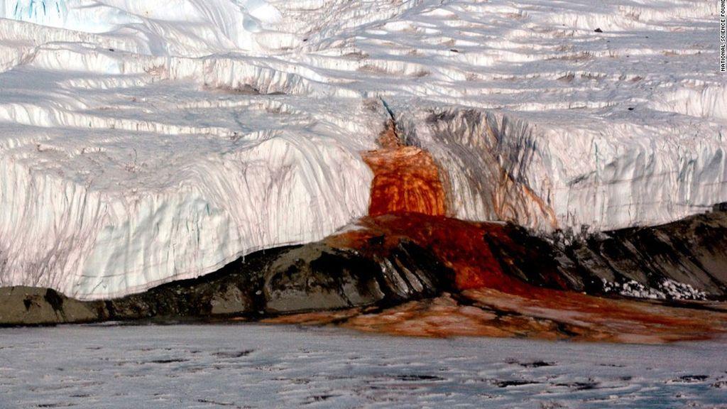 Cataratas de Sangre en Antártida