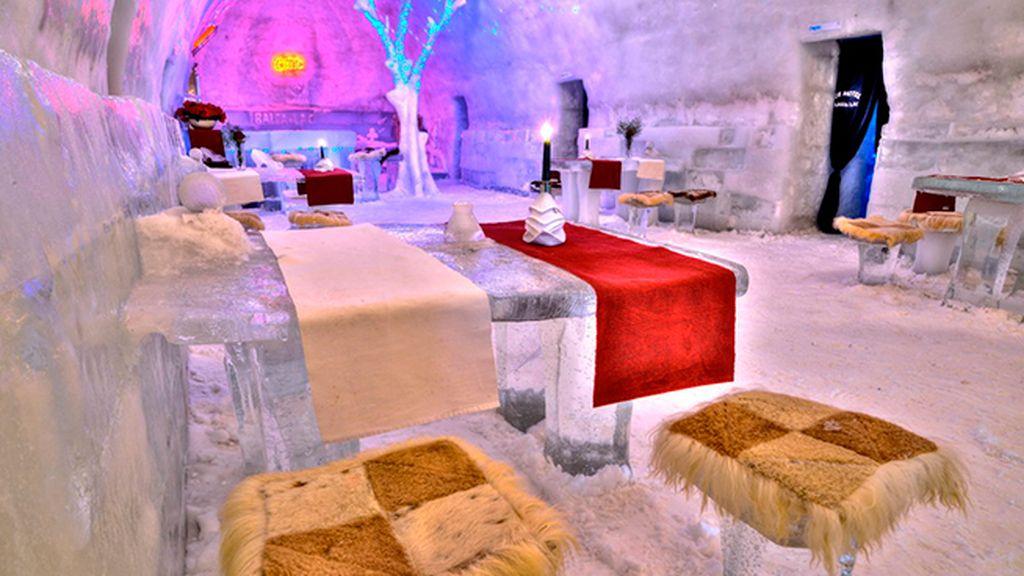Hotel of Ice Balea Lac, Rumanía: de puro hielo artesano