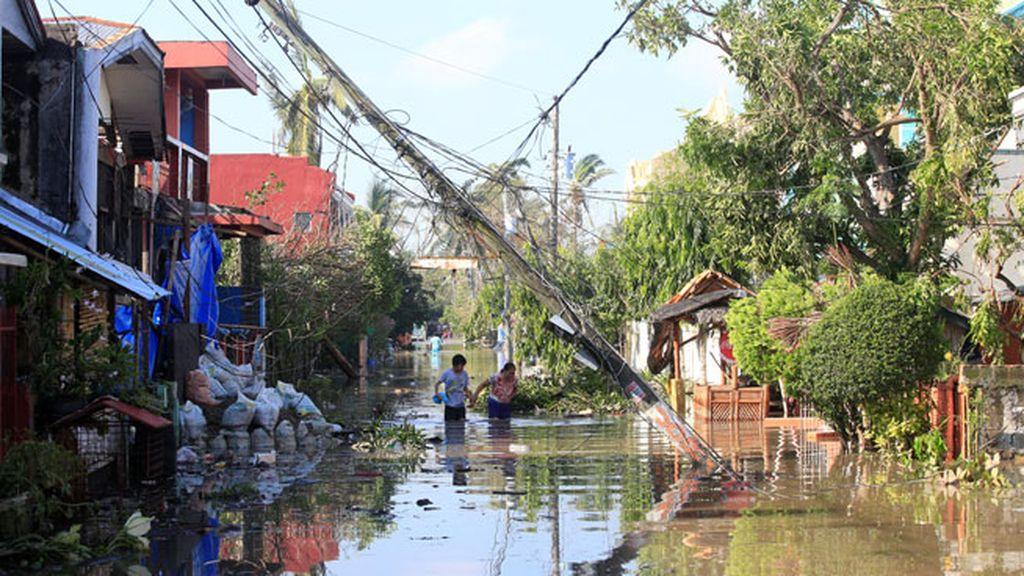 Por estar en el Cinturón de Fuego y en el de los Tifones, Filipinas es la más vulnerable
